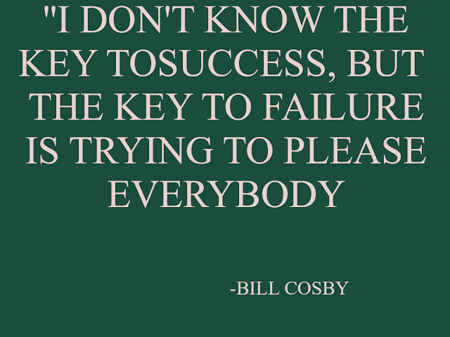 BILL COSBY QUOTES