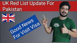 UK Red List Pakistan Update || UK Red List Countries Update || Every Visa