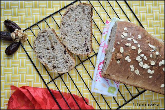 Date And Walnut Bread - Scotland