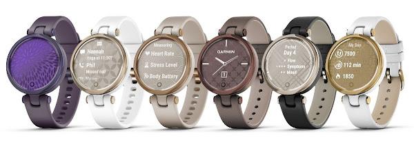 Lily, o novo relógio inteligente Garmin: leve, versátil e elegante