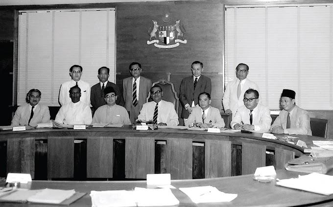 PRU 1 : 1959 : Pilihanraya Pertama Tanah Melayu