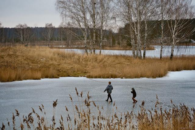 Озеро в Ворсме. Ноябрь 2015