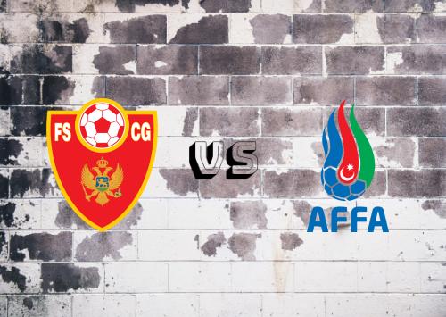 Montenegro vs Azerbaiyán  Resumen