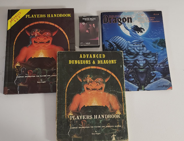 AD&D Players Manuals and Dragon #114