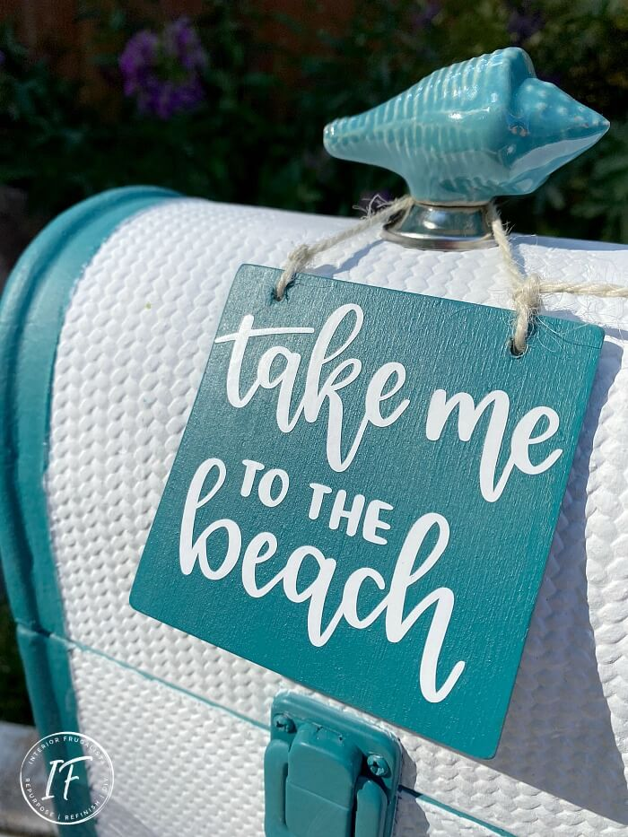 Coastal Wine Bottle Tote