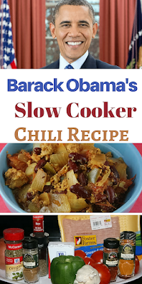 This is the Obama family's favorite chili recipe. It calls for adding turmeric, cumin, oregano, and red wine vinegar for  tangy twist.