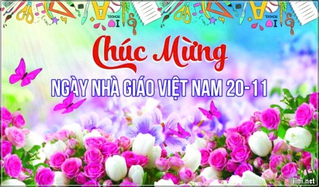 ảnh chúc mừng ngày nhà giáo Việt Nam 20-11 đẹp