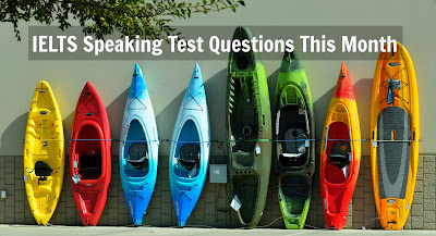 September IELTS Speaking Test Questions & Answers