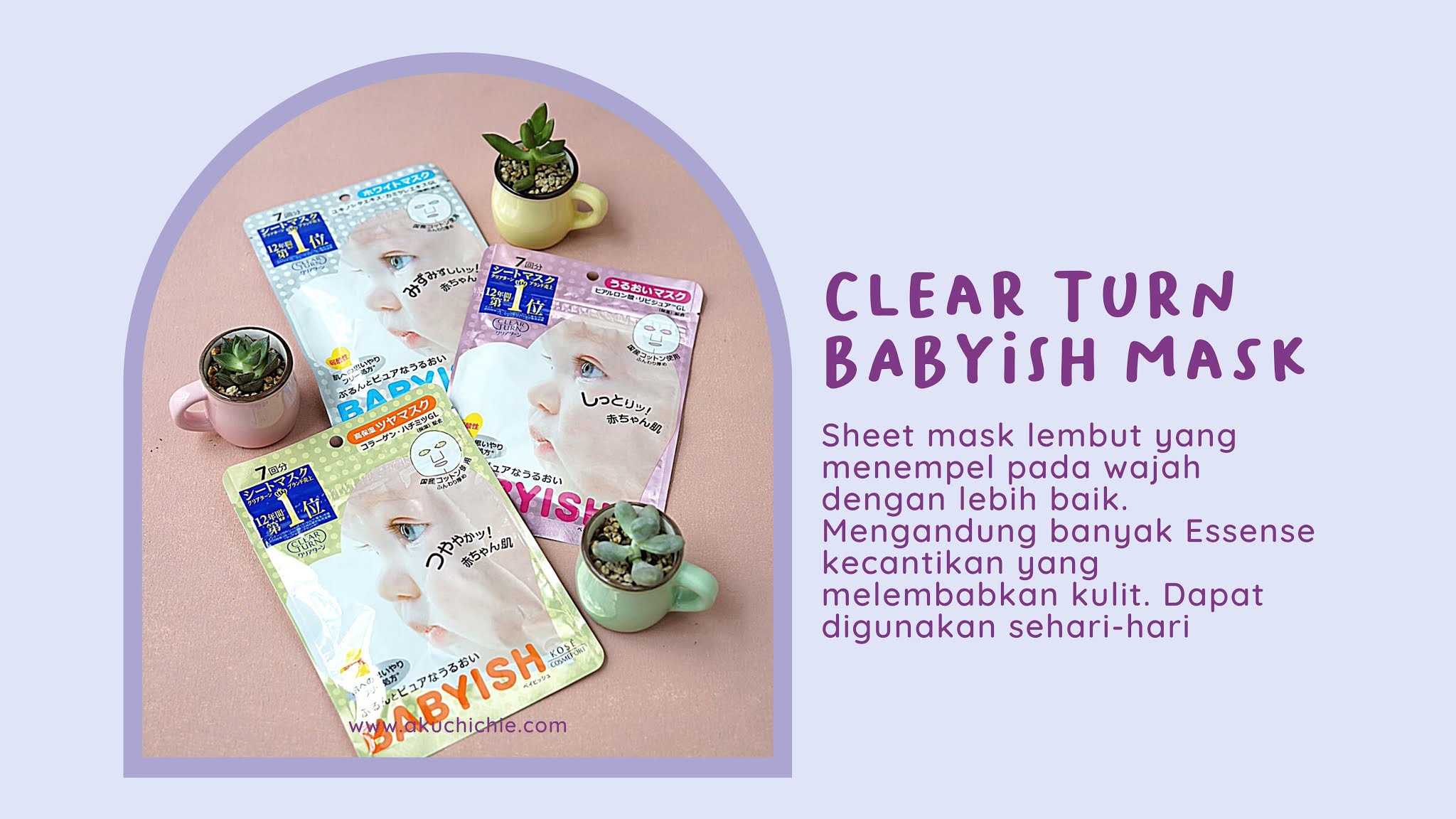 kose cosmeport Clear Turn BABYISH Mask