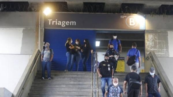 Graban balacera en el Metro; hay 23 muertos, Se teme lo peor