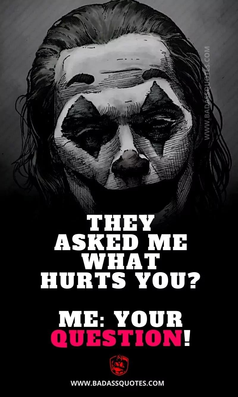 Joker Quotes on Pain