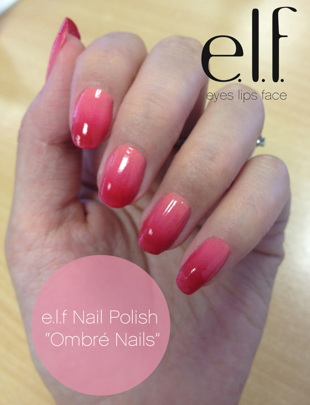 Me, My e.l.f. and I: e.l.f Ombr Nails: How to Tutorial Video