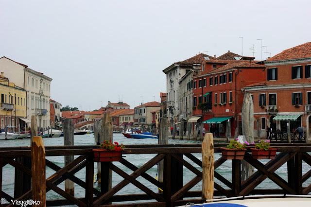 Vista di Murano e dei suoi canali