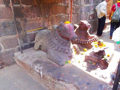 Nandi at Bhimashankar