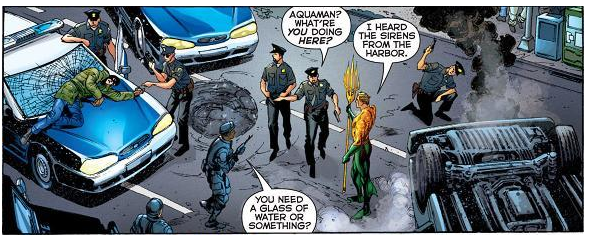 Review: Aquaman #1 ~ The 52 Review