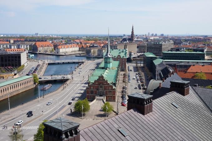 Kööpenhaminan parhaat näköalapaikat - Christiansborgin linnantorni
