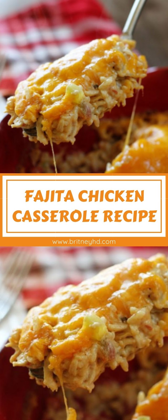 FAJITA CHICKEN CASSEROLE RECIPE