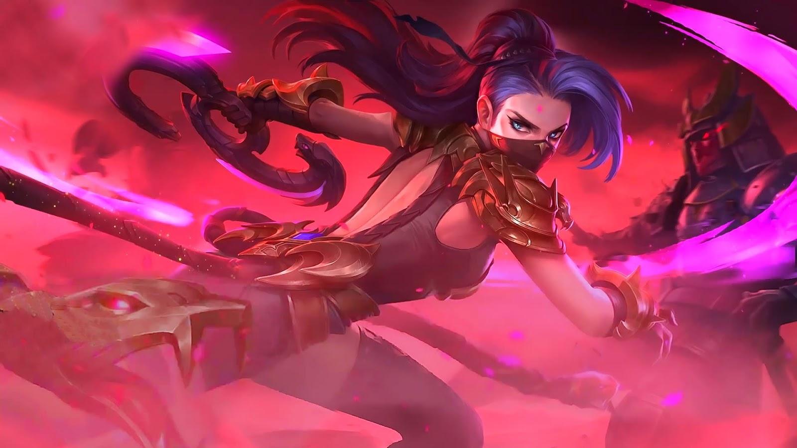 Wallpaper Hanabi Viper Skin Mobile Legends HD for PC