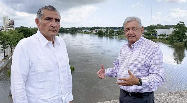 """López Hernández a SEGOB: """"Mi amigo, paisano y compañero entrañable"""": AMLO"""