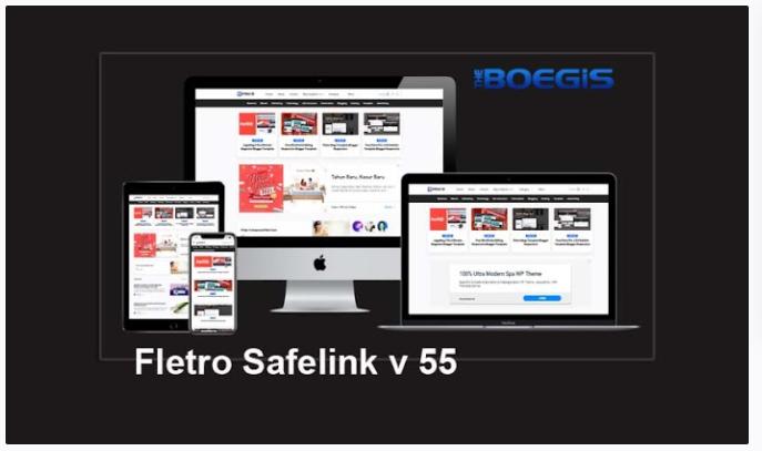 Blog Template Gratis Fletro Pro v.5.5 Template Safelink Blogger Responsif
