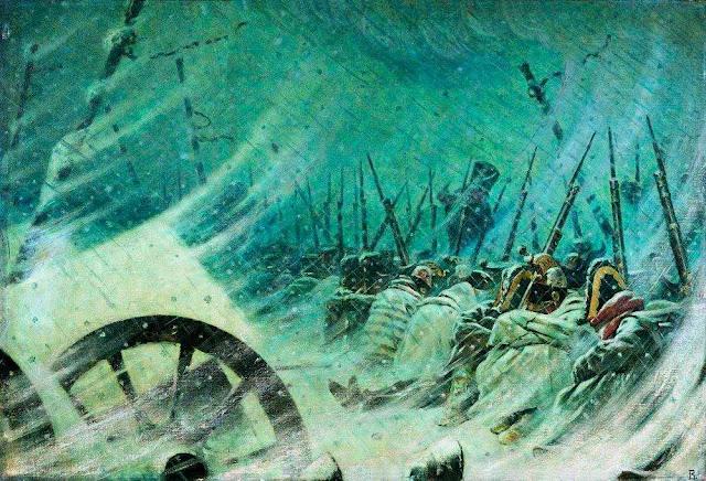 Василий Васильевич Верещагин - Ночной привал великой армии. 1896-1897