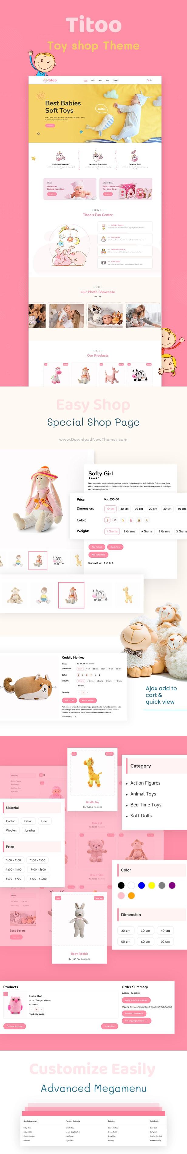 Shopify Kids Store