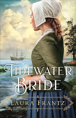 Book review of Tidewater Bride by Laura Frantz (Revell) by papertapepins