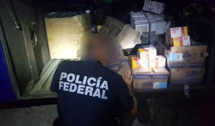 Aseguran 50,000 cartuchos en autobus de pasajeros en Veracruz