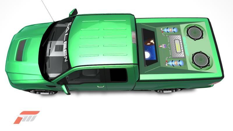 Car AUdio VIdeo: Custom Truck Audio System Photos