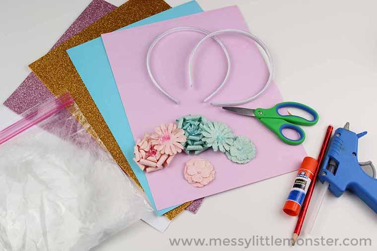make your own unicorn headband
