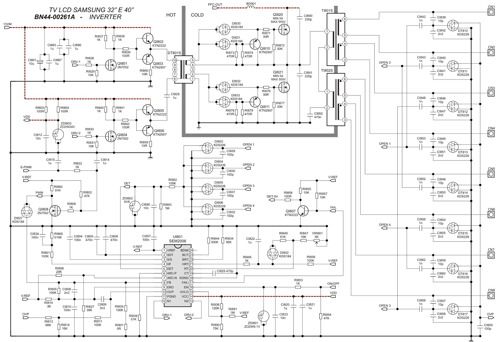 circuit diagram click on the schematics to zoom in  [ 1600 x 1098 Pixel ]