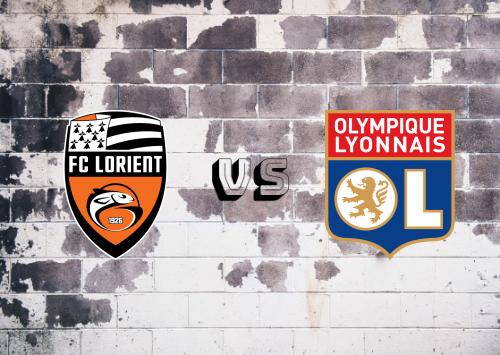 Lorient vs Olympique Lyonnais  Resumen