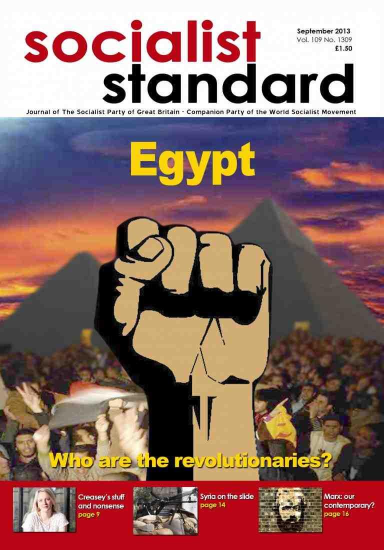 Socialist Standard Past & Present: October 2013