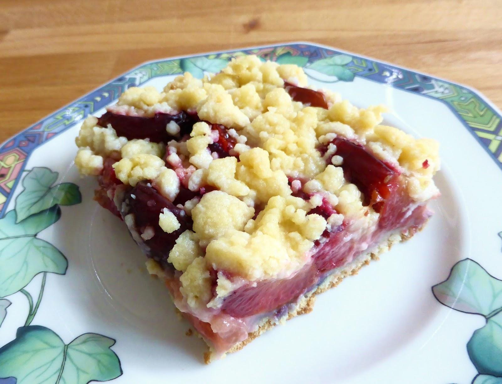 Vegan Go For It Zwetschgen Streuselkuchen Vom Blech