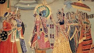 Rama and Sita from Ramayana