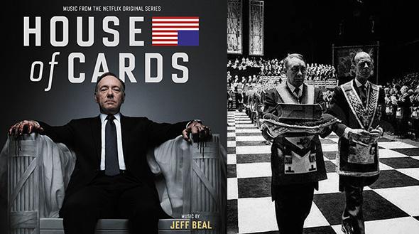 """""""House of Cards"""": Los medios encubren el control masónico"""