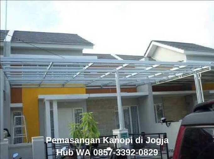 Kanopi Baja Ringan Yogyakarta Wa 0857 3392 0829 Jasa Pemasangan Jogja