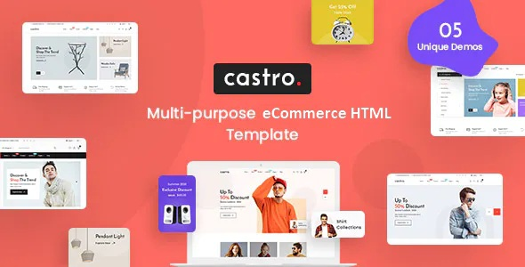 Best eCommerce HTML Template