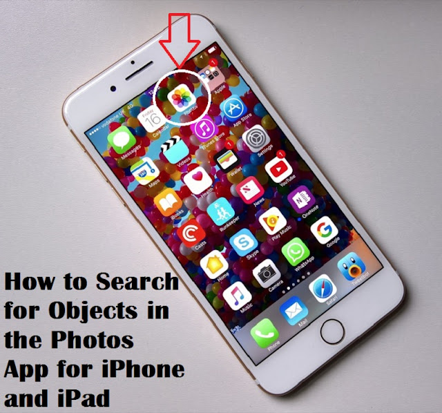 How to Search for Objects in the Photos App for iPhone and iPad