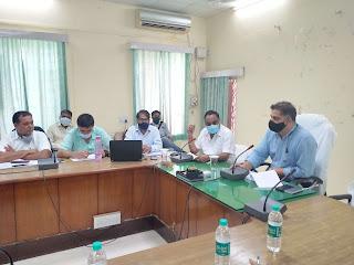 Medical dept ke workers ki prashansha