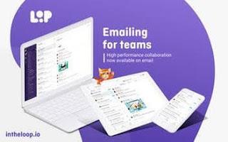 برنامج, البريد, الالكترونى, والدردشة, ومحادثات, البريد, الجماعية, Loop ,Email