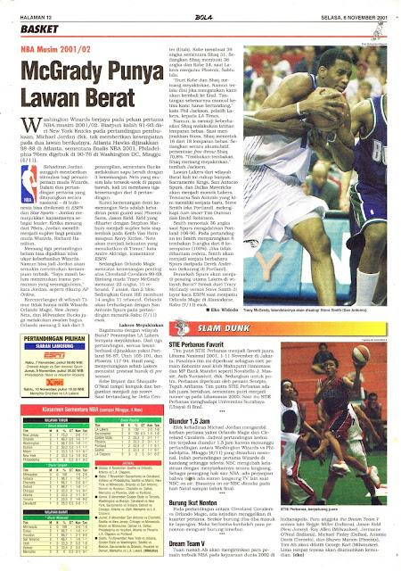 NBA MUSIM 2001/02 McGRADY PUNYA LAWAN BERAT