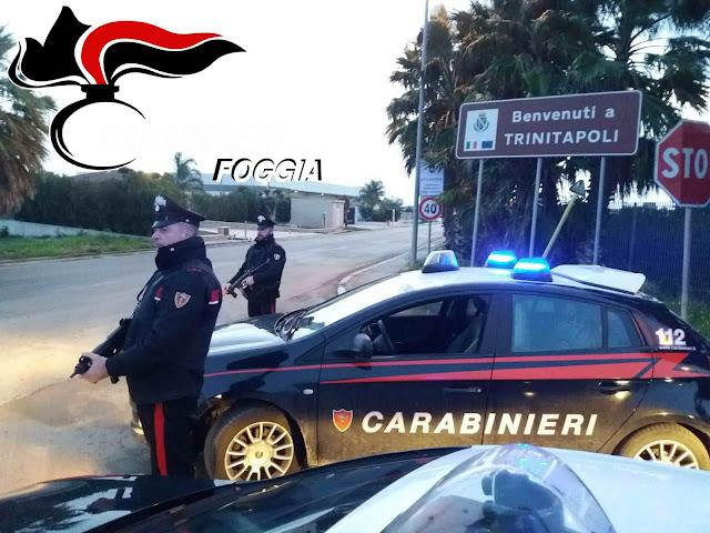 In casa aveva circa 4mila euro stupefacenti. I Carabinieri di Trinitapoli arrestano 29enne