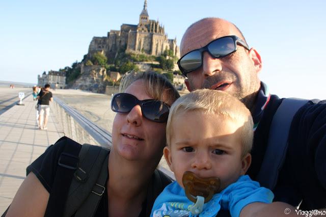 Noi di ViaggiamoHG a Mont Saint Michel