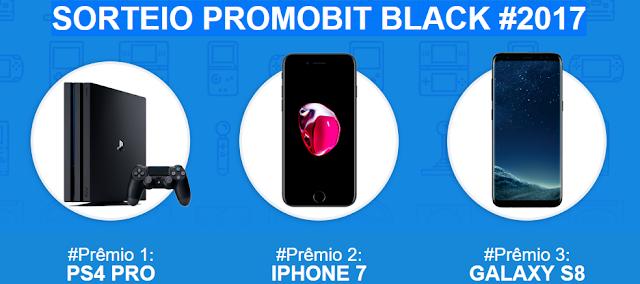 """Sorteio: """"Promobit Black #2017"""" blog topdapromocao.com.br"""