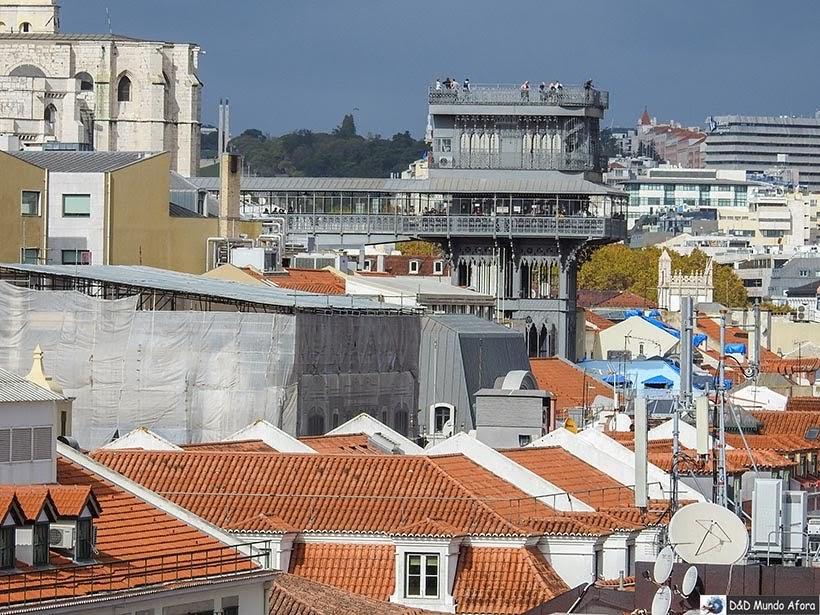 Elevador de Santa Justa - o que  fazer em Lisboa