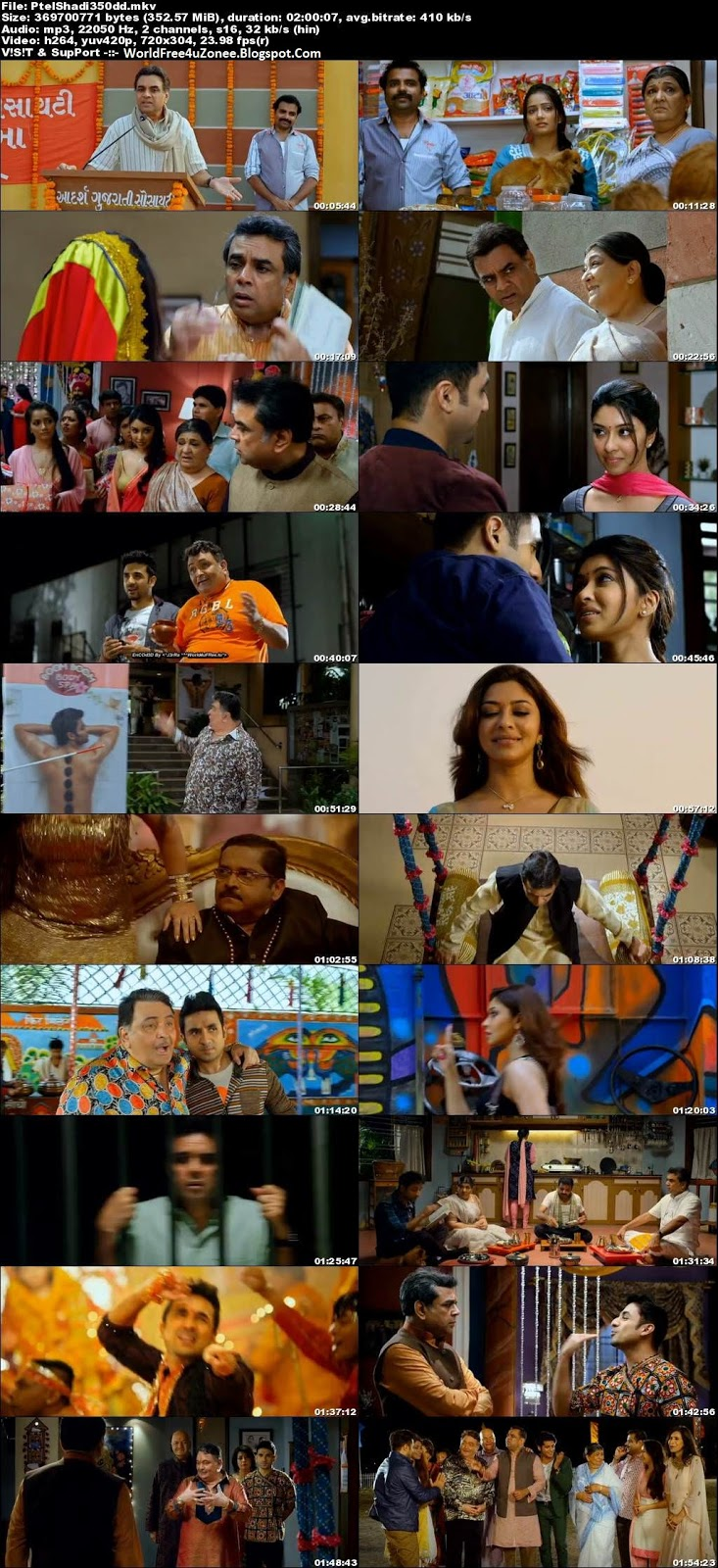 Patel Ki Punjabi Shaadi (2017) Hindi DVDRip 480p 300MB Full Movie Free Download And Watch Online Latest Bollywood Hindi Movies 2017 Free At WorldFree4uZonee.Blogspot.Com
