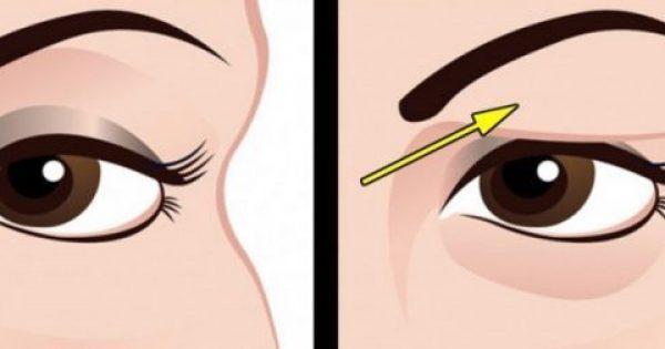Πως Να Αντιμετωπίσετε Με Φυσικό Τρόπο Τα Πεσμένα Βλέφαρα. Τα Αποτελέσματα Είναι Εκπληκτικά!