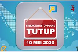 Catat, Sinkronisasi Dapodik Akan Ditutup Tanggal 10 Mei 2020