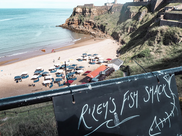 Riley's Fish Shack, Tynemouth: clear signs to your deckchair
